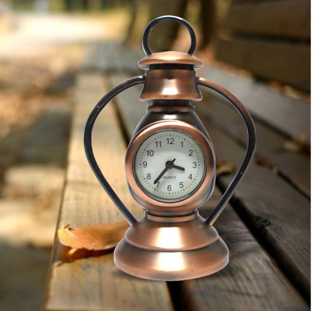 SQS-K56 Miniature Metal Clock Mini Hand Lantern